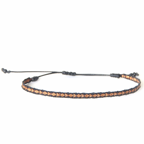 Bracelet finesse noir - Mazonia