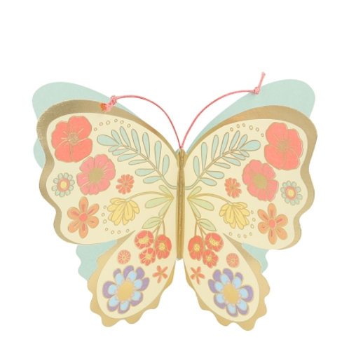 Carte postale Papillon - Meri Meri