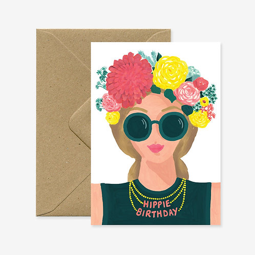 Carte postale hippie birthday - All The Ways To Say