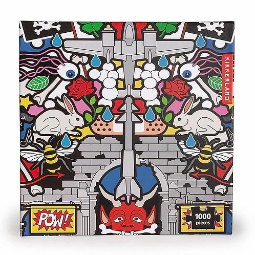 Puzzle artistique Pow ! - Kikkerland