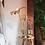 Thumbnail: Lampe palmier  en laiton doré