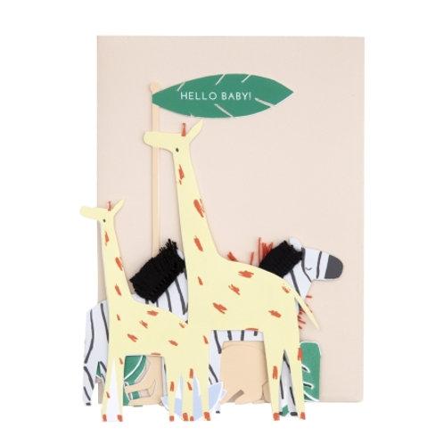 Carte postale Hello baby - Meri Meri