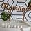 Thumbnail: Petit Cake Topper - Numéros de tables à personnaliser