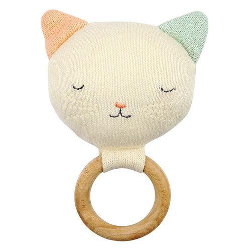 Hochet bébé chat - Meri Meri
