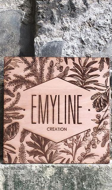 🌿 Gravure d'une enseigne pour _emylinec