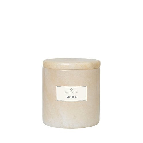 Bougie parfumée marbre MORA - Blomus