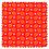 Thumbnail: Plaid bébé - Cereal Tangerine Petit Pan