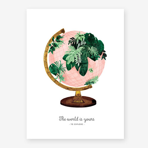 Affiche A5/A3 World - All The Ways To Say