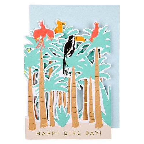 Carte postale Oiseaux tropicaux - Meri Meri