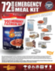 Chef 5 Minute Meals _ 72-hour-kit-conten