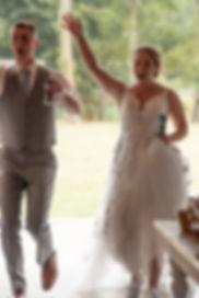 farm wedding, wedding couple