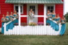 Wedding party, brides maids