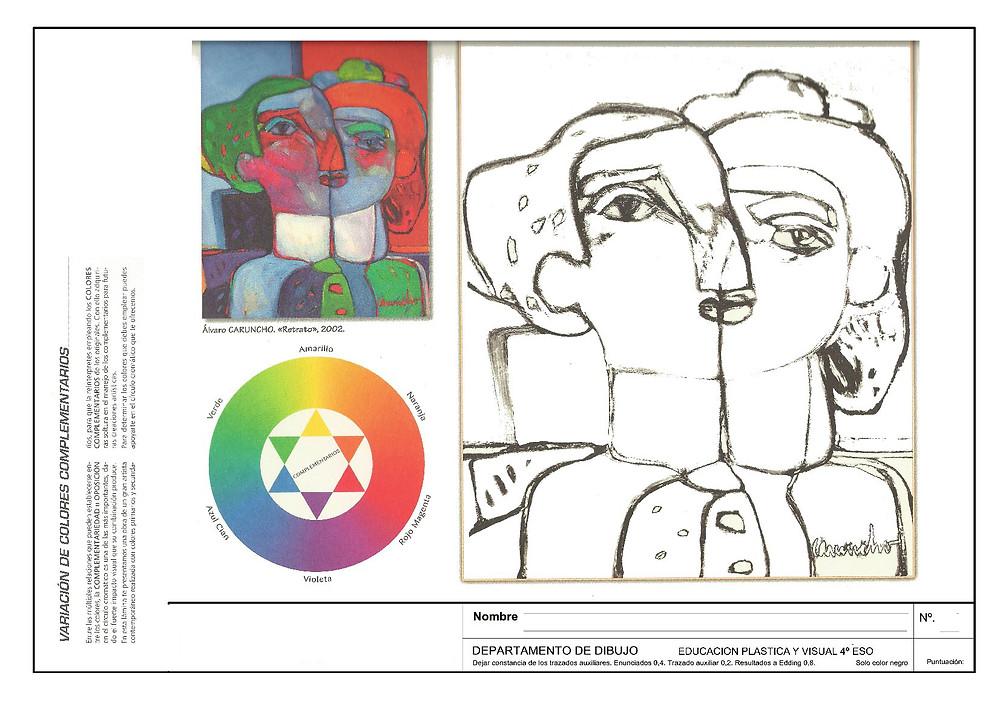 Ficha de Educación plástica y Visual