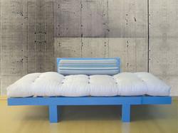 Sofá-cama Divã (aberto cama)