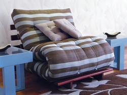 Sofá-cama S solteiro