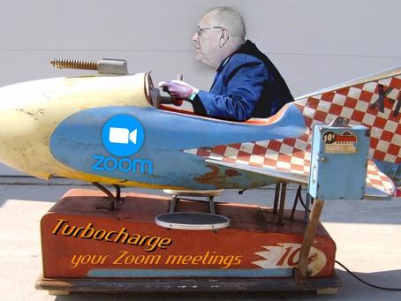 Turbocharge your Zoom meetings!