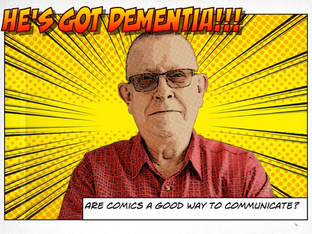 Can Comics help to educate about dementia?
