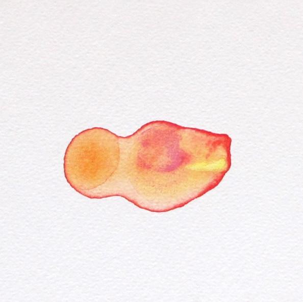 Colors Colliding (orange red, yellow)
