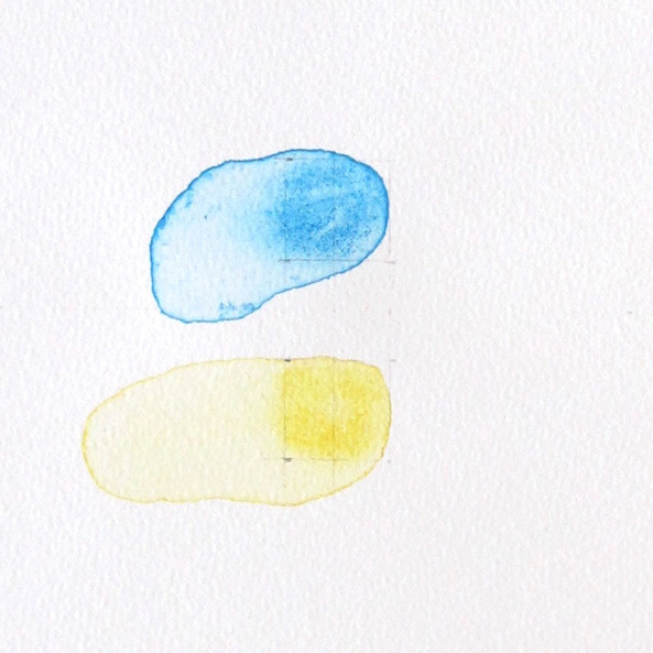 Colors Colliding (blue, yellow)