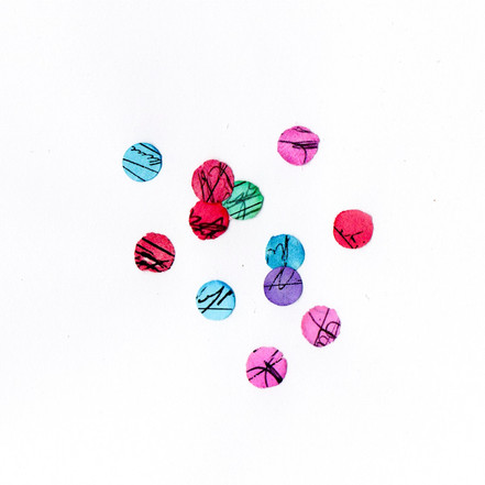 What I Found in a Bag of Confetti -scribble