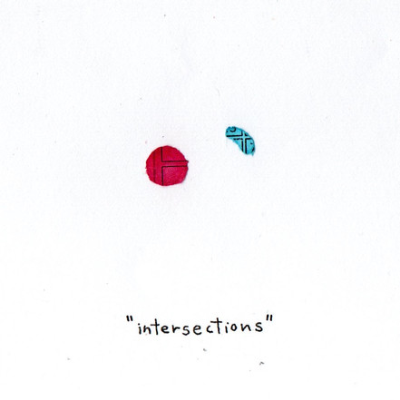 What I Found in a Bag of Confetti -intersections
