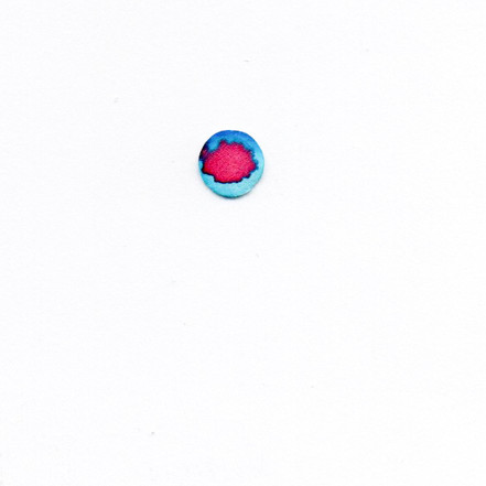 What I Found in a Bag of Confetti -red in blue