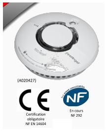 Détecteur de fumée Interconnectable WIFI