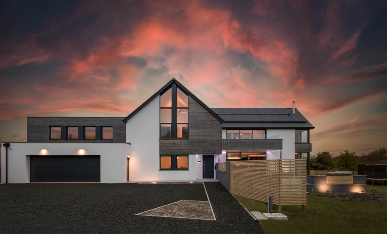 New Build. Bude. Cornwall.