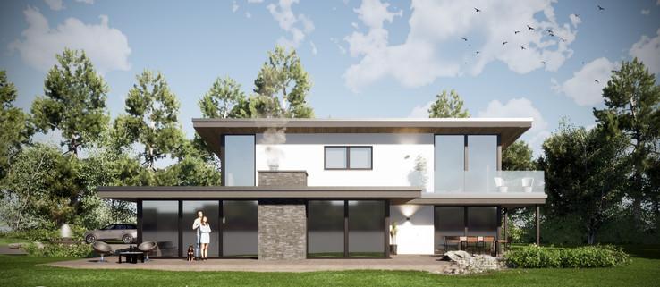 Romia. Contemporary New Build. Cornwall.