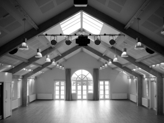 Shebbear primary school hall, Shebbear College.
