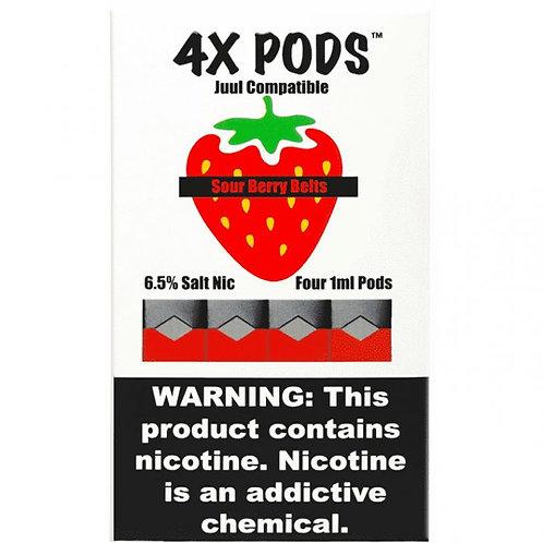 4X Pods Sour Berry Belts
