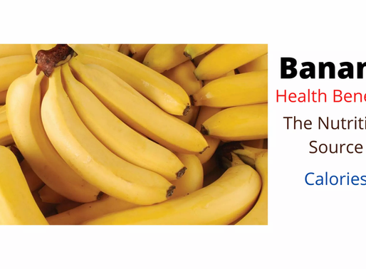 Bananas: Health Benefits | The Nutrition Source | Calories