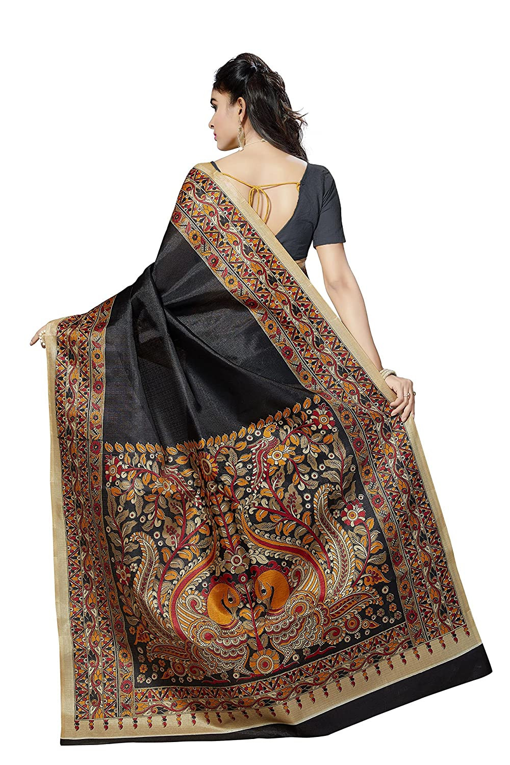 types of indian saree bhagalpuri silk saree