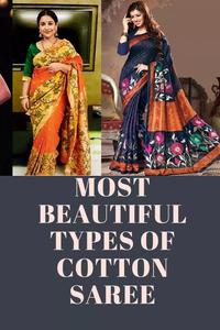 Most beautiful types of cotton saree
