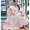 Light Pink Taffeta Silk Embroidery Top With Sudidar