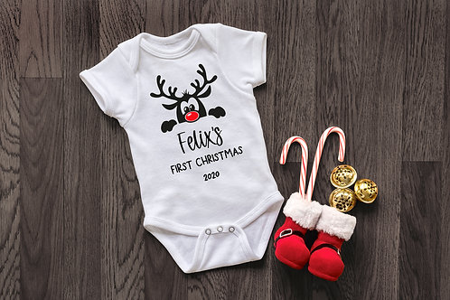 My First Christmas Baby Grow - 2020