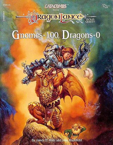 Gnomes-100, Dragons-0 (Dragonlance: Catacombs Solo Quest) TSR 8421 [eBook]