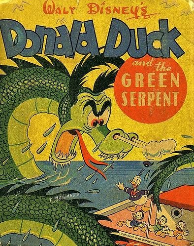 Donald Duck and the Green Serpent (Better Little Books #1432) [PDF Digital]