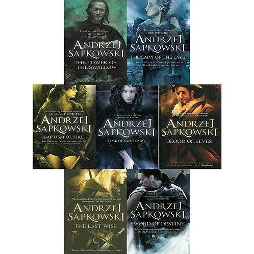 The Witcher Series by Andrzej Sapkowski [7 Volume Digital eBook Set]