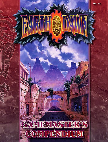 Earthdawn Gamemaster's Compendium (Earthdawn Classic RBL-101) RPG Game [PDF]