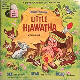 Walt Disney's Story of Little Hiawatha (eBook & Audio) LLP 330