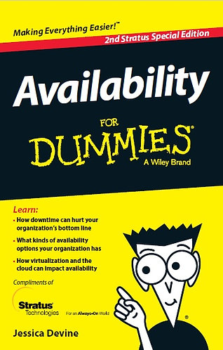 Availability for Dummies (2nd Edition) [eBook]