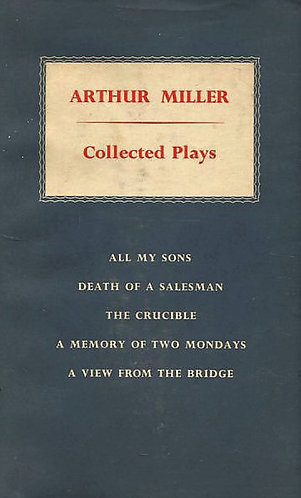 Arthur Miller Collected Plays (Volume 1) Viking (1957) [eBook]