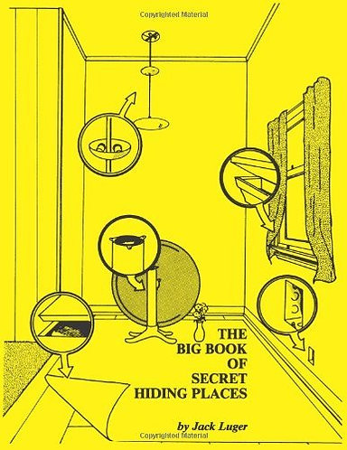The Big Book of Secret Hiding Places by Jack Luger | How to hide things [PDF]