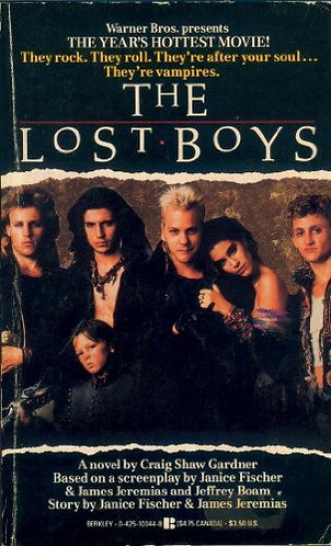 The Lost Boys by Craig Shaw Gardner [eBook] Horror Movie Novel