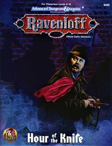 AD&D 2.0 Ravenloft Level 4-6 Adventure - Hour Of The Knife [eBook]