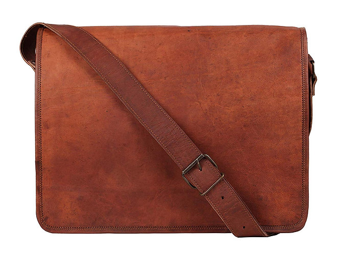 Vintage Crossbody Genuine Leather iPad Messenger Bag (For 10.5 inch iPad Pro)