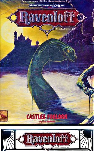 AD&D 2.0 Ravenloft Level 4-6 Adventure - Castles Forlorn [Digital]
