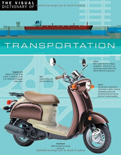 The Visual Dictionary of Transportation by Ariane Archambault [English Edition]