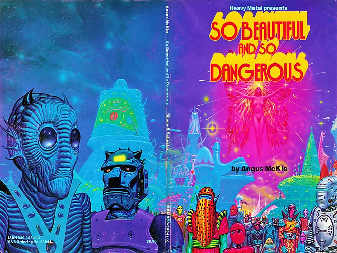 So Beautiful and So Dangerous by Angus McKie (Heavy Metal Presents) Comic Book